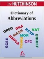 کتاب The Hutchinson Dictionery Of Abbreviations