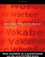 دانلود کتاب Mastering German Vocabulary