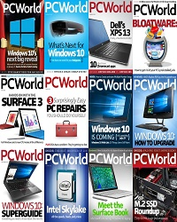 دانلود مجله PC World 2015 Full Year Issues Collection